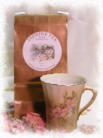 Well Beings Jasmine Tea with Jasmine Flowers - Product Image