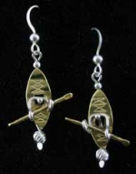 Kayaker Earrings - Product Image
