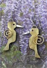 Hummingbird Earrings - Product Image