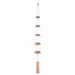 Woodstock Temple Bellls Chime (Quintet, Copper) - Product Image