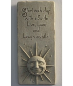 A Smile A Day Indoor-Outdoor Plaque - Product Image