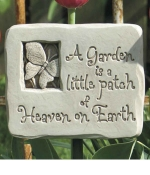 A Heavenly Garden Indoor-Outdoor Plaque - Product Image