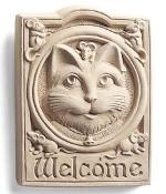 Welcome Cat Indoor-Outdoor Plaque - Product Image