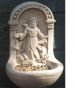 St. Francis Birdfeeder - Product Image