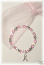 Cancer Awareness Bracelet (Breast Cancer) - Product Image