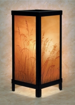 Golden Sunset Lithophane Lamp - Product Image