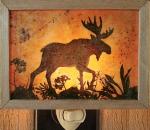 Wandering Moose Night Light - Product Image