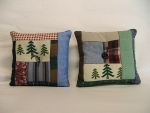 Hand Quilted Balsam Filled Pillow Sachet - Product Image