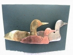 Loon Barrette - Mixed Metal - Product Image
