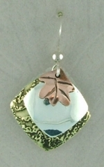 Majestic Leaf Earrings - Product Image