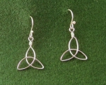 Triquetra Earrings - Product Image