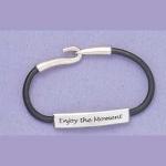 Enjoy Leather Bracelet - Product Image
