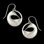 Preening Loon Drop Earrings - Product Image