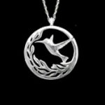 Hummingbird Pendant (Large) - Product Image