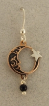 Copper Moon Earrings - Product Image