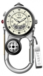 Dakota Angler II (Silver Case- Champagne Dial) - Product Image