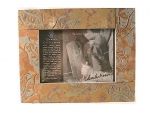 Quarry Collection Slate Cottage Photo Frame 5 X 7 - Leaves - Product Image