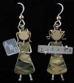 School Teacher Earrings - Product Image
