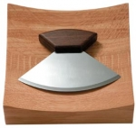 Ulu Knife and Bowl Set - Product Image