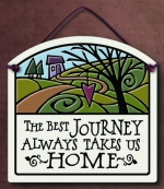 Best Journey Small Arch Plaque - Product Image
