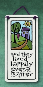 And They Lived Happily Mini Charmer Plaque - Product Image