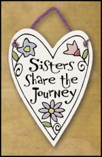 Sisters Share Mini Charmer Plaque - Product Image