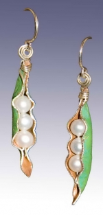 Pearl Pod Earrings - Product Image