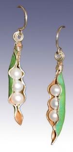 Pearl Pod Earrings - Product Image