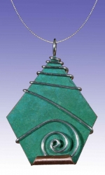 Berkshire Pin / Pendant with Chain - Product Image