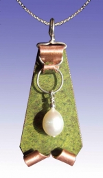 Luma Pin/Pendant with Chain - Product Image