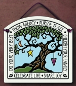 Show Mercy Small Arch Plaque - Product Image