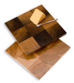 Deep Forest Birch Serving Board - 400 Year Old Wood - Product Image