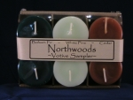 Votive Candle Sampler Six Pack - Northwoods - Product Image