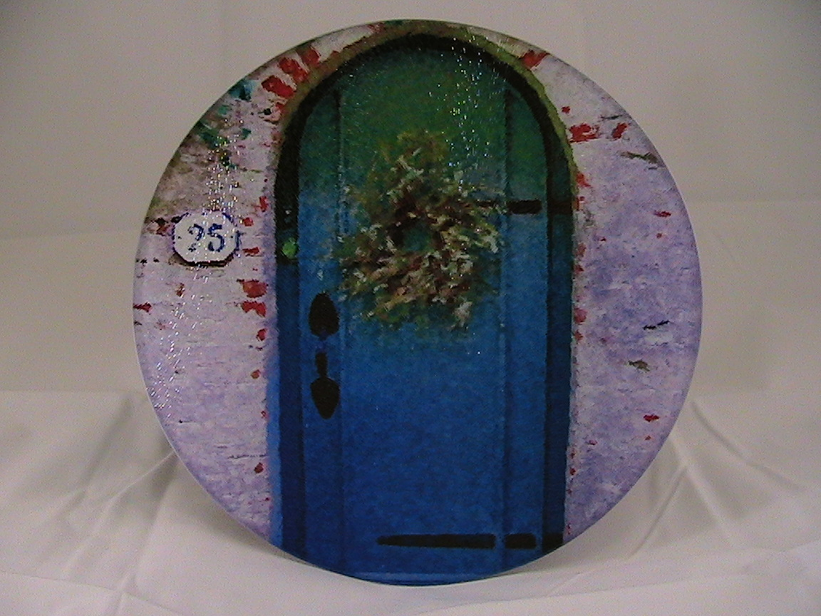 Beacon Hill Blue Door Trivet