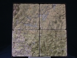 Great North Woods Marble Coaster Set - Product Image