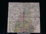 Antique NH Map Marble coaster Set - Product Image