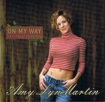 Amy Lyn Martin - On my Way Music CD - Product Image