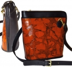 Leaf Leather L-Zip Bag - Style 678 - Product Image