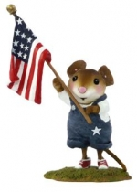 Wee Forest Folk FB-5a Homegrown Stars & Stripes - Product Image
