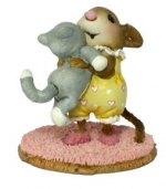 Wee Forest Folk M-355 Kitty Cuddle - Product Image