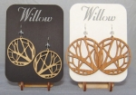 Branches - Wooden Earrings - Product Image