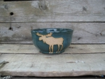 Moose Large Cereal Bowl - Product Image