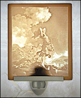 Ecstasy Lithophane Night Light - Product Image