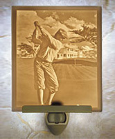 The Fairway Lithophane Night Light - Product Image