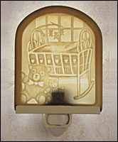 Nursery Lithophane Night Light - Product Image