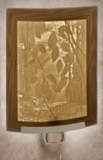 Secret Path Lithophane Night Light - Product Image