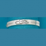 Angels Listen Pewter Bangle - Product Image