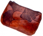 Leaf Leather Coin Purse - Style 8 - Product Image