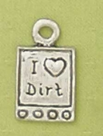 I Luv Dirt Pet Tag - Product Image