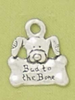 Bad to the Bone Pet Tag - Product Image